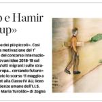 Articolo L'Eco di Bergamo 22-09-2019